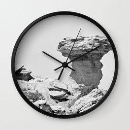Camel Rock and Hump NM  Wall Clock