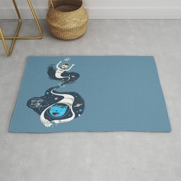 Across the dark hole Rug