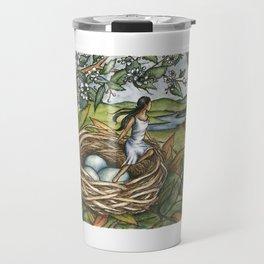 The Hedge Sparrow Elf Travel Mug