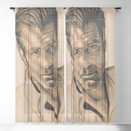 George Clooney Sheer Curtain
