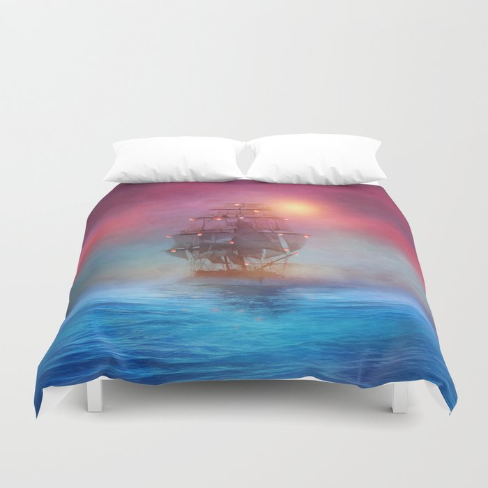 The lights Duvet Cover