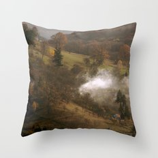 Difussion Throw Pillow