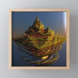 The journey is the destination Framed Mini Art Print