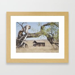 Abandoned: South Dakota 6507 Framed Art Print