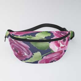 Rose Profusion Bouquet Fanny Pack