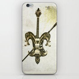 """Fleur Guitar"" iPhone Skin"