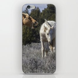 Getting an Earful from Dad iPhone Skin