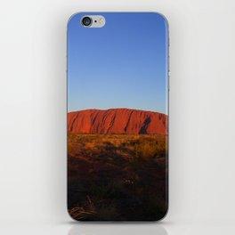Uluru in the morning iPhone Skin
