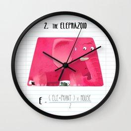 2.Elephazoid Wall Clock