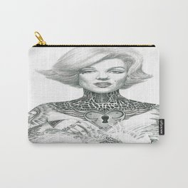 Marilyn Tattooed Carry-All Pouch