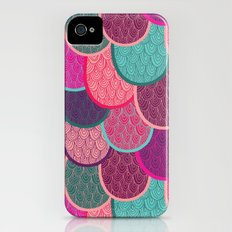 Fish Scales and Mermaid Tales Slim Case iPhone (4, 4s)