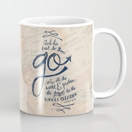 Go Into All The World Coffee Mug