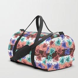 Ameba Blobs - Colorful Putty Duffle Bag