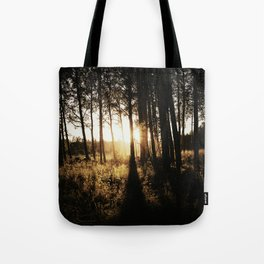 Golden Hour II Tote Bag