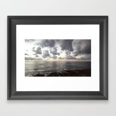 Sunset Cliffs, San Diego Framed Art Print