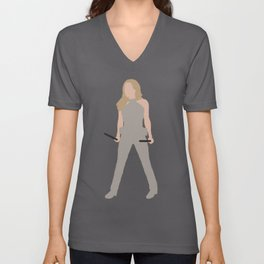 The White Canary Unisex V-Neck