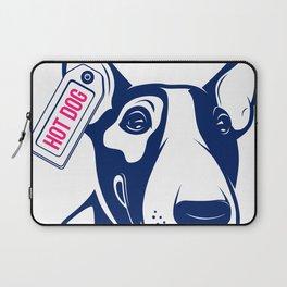 Bull Terrier Hot Dog edition Laptop Sleeve