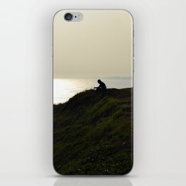 Mountain by the Sea iPhone Skin