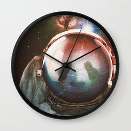 The Vulnerable Explorer Wall Clock