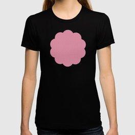 Motif Rose rose T-shirt