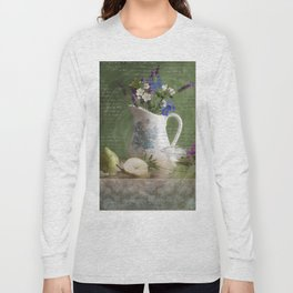 Lavender and Pears Long Sleeve T-shirt
