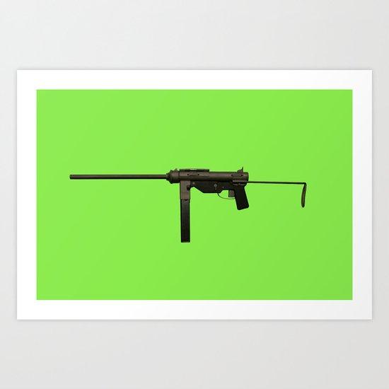 Guns In America 1 Art Print