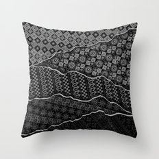 Pattern Madness Throw Pillow