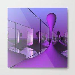 dimensions -2- Metal Print