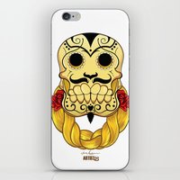 hip hop iPhone & iPod Skins featuring Hip Hop is Muerto by Artist53