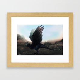 Cockatrice Framed Art Print
