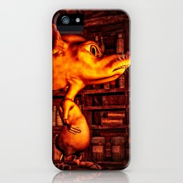 Mouse In The Magic Attic iPhone Case