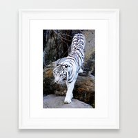 grace Framed Art Prints featuring Grace by DiDi Higginbotham