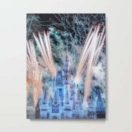 And they lived, Happily Ever After Metal Print