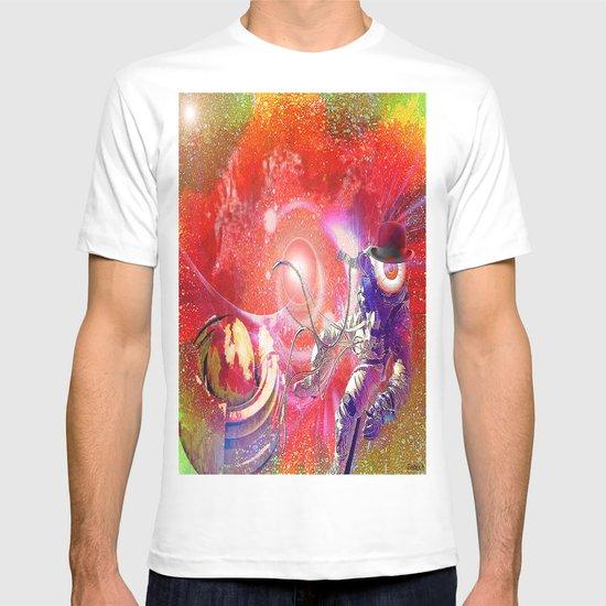 Monsieur Bone lost in space  T-shirt