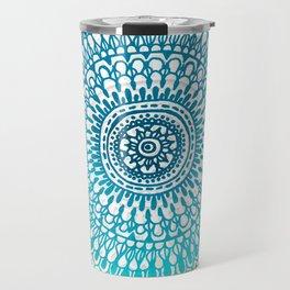 Radiate in Teal + Emerald Travel Mug