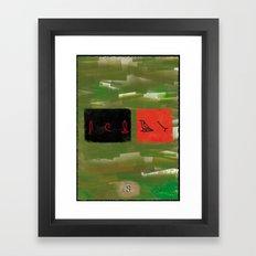Lost - season 2 Framed Art Print