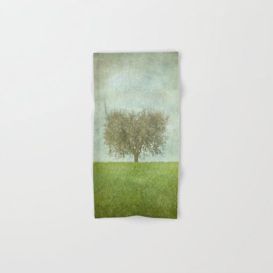 The Lone Olive Tree Hand & Bath Towel