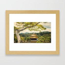 The Golden Temple (Kinkaku-ji) Framed Art Print