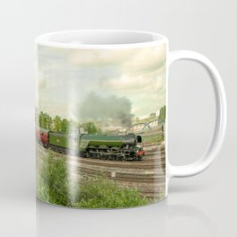 Flying Scotsman at Bristol Temple Meads Coffee Mug