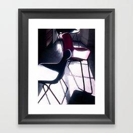 Art Studio Chairs Framed Art Print