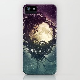 Clockwork Moon iPhone Case