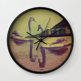 Swan Sands Wall Clock