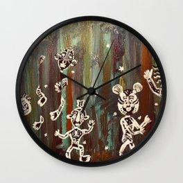 Children of the Jungle Wall Clock