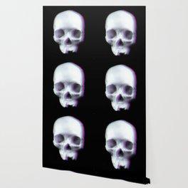 Three dimensional skull illustration Wallpaper