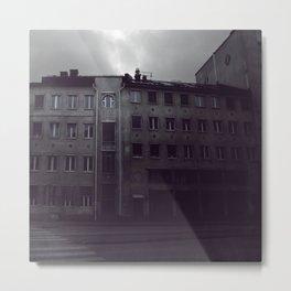 Stockholm blue Metal Print