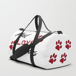 Must Love Dogs Duffle Bag
