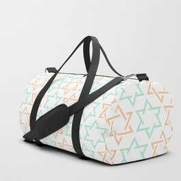 Star Of David Pattern  #society6 #decor #buyart #artprint Duffle Bag