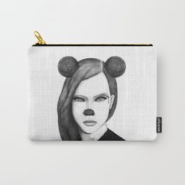 The girl with mouse ears Carry-All Pouch
