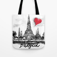 I love Bangkok Tote Bag