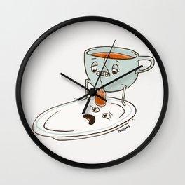 Tea Baggin' Wall Clock